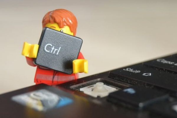 lego man doing accountant marketing