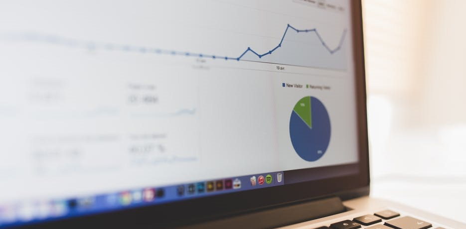 Google Analytics data showing marketing for accountants